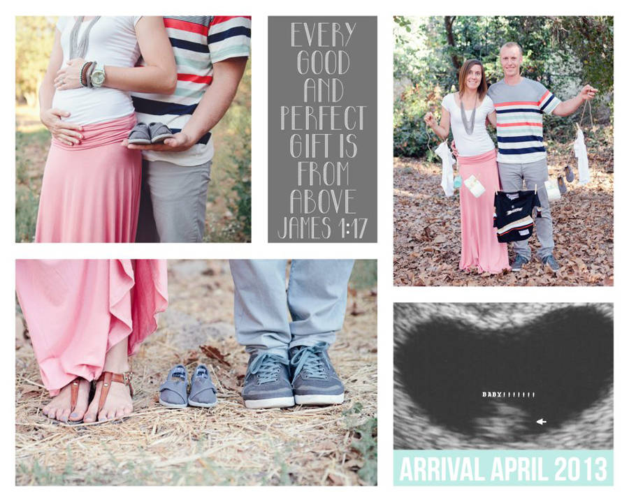 James 1:17, Christian, Baby Clothes Line  Prop Maternity Announcement  Photos by Paige and Blake Green