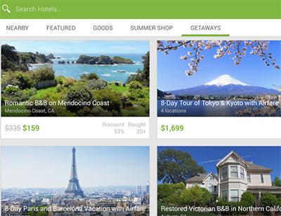 Groupon app viajes y mas ofertas