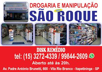 DROGARIA E MANIPULAÇÃO SÃO ROQUE