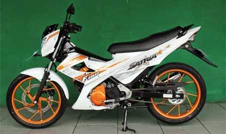 Suzuki Satria FU150 White Fighter Edition 2015
