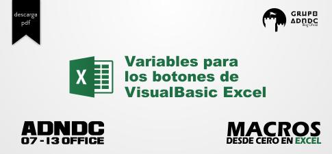 Imagen variables para los botones de Visual Basic