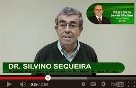 Mensagem de apoio do Dr. Silvino Sequeira ao Dr. Carlos Nazaré (Clique na imagem)