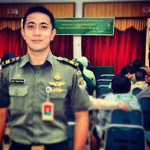 Tentara TNI Abu Bastian Ganteng Gagah