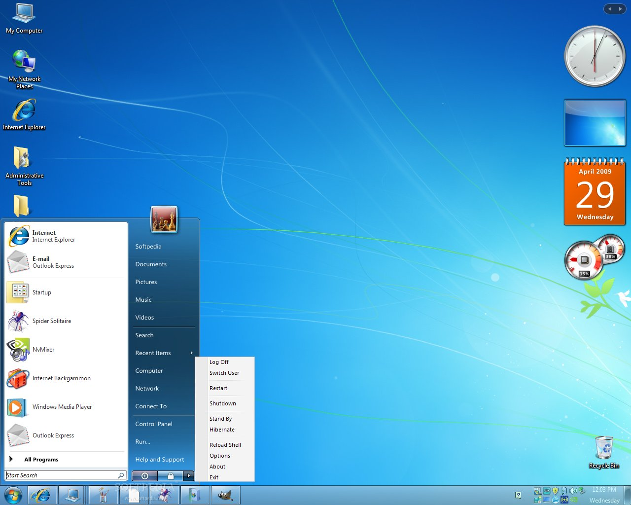 Windows 7 transformation pack windows 7