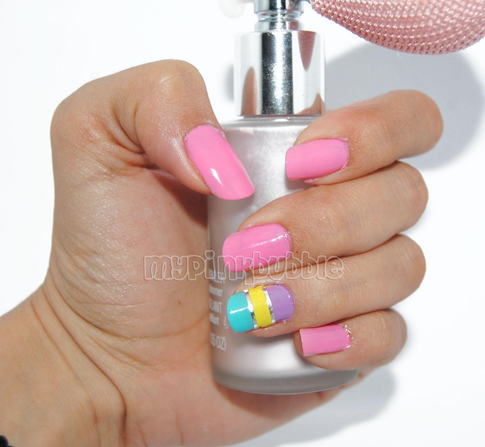 manicura tonos pastel