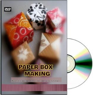 Membuat box: Paper box making