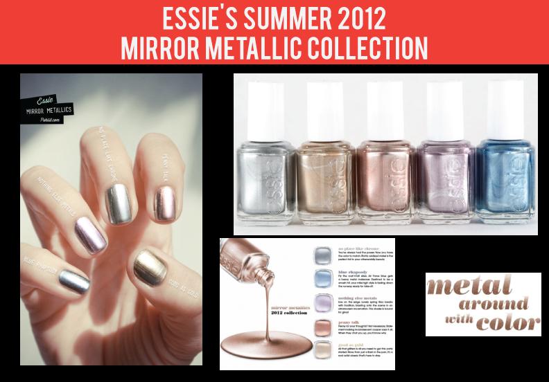 Stylish Nail Polish Collection: Essie Mirror Metallics | Stylelista ...