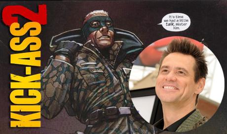 Jim Carrey sera el Coronel Star en Kick-Ass 2