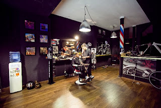 cream barber shop, barcelona