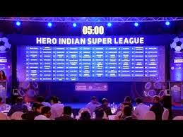 hero indian super league Fixtures & Tickets