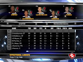 NBA 2k14 Custom Roster Update v4 : February 21st, 2015 - Trade Deadline - Bucks Roster