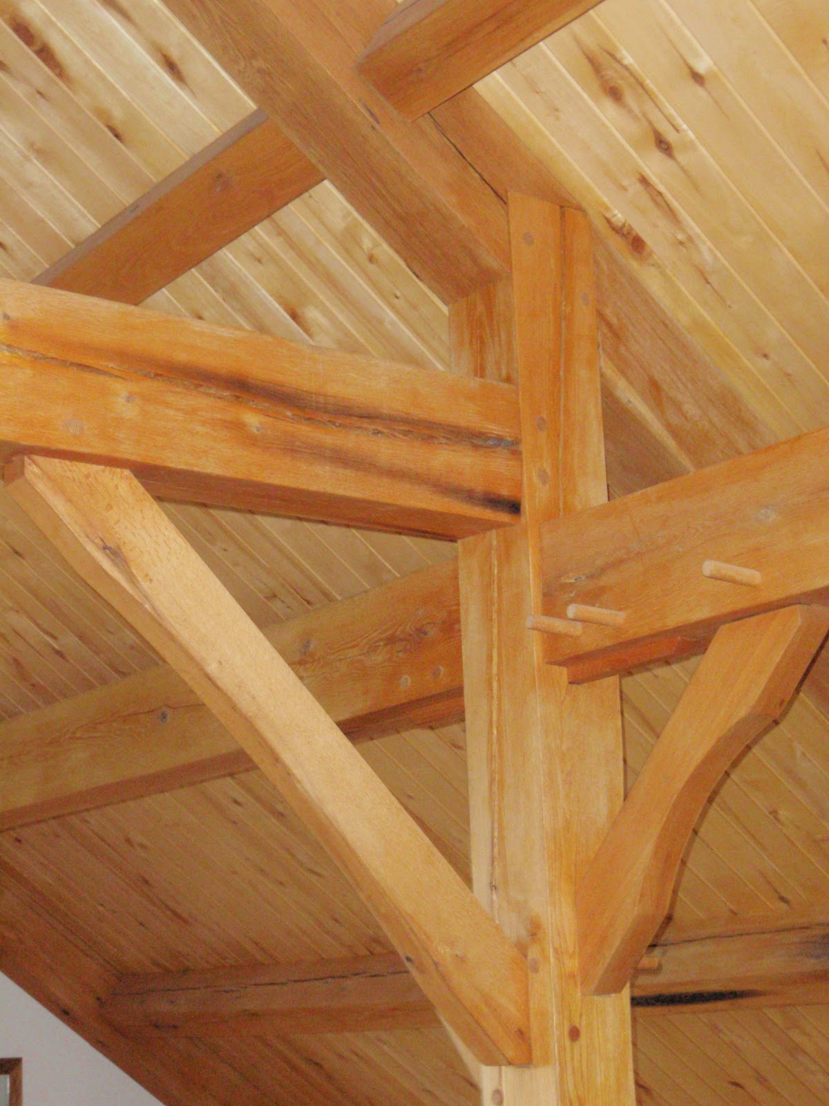 michaels timber framing joinery