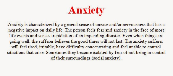 life style health depression anxiety symptoms