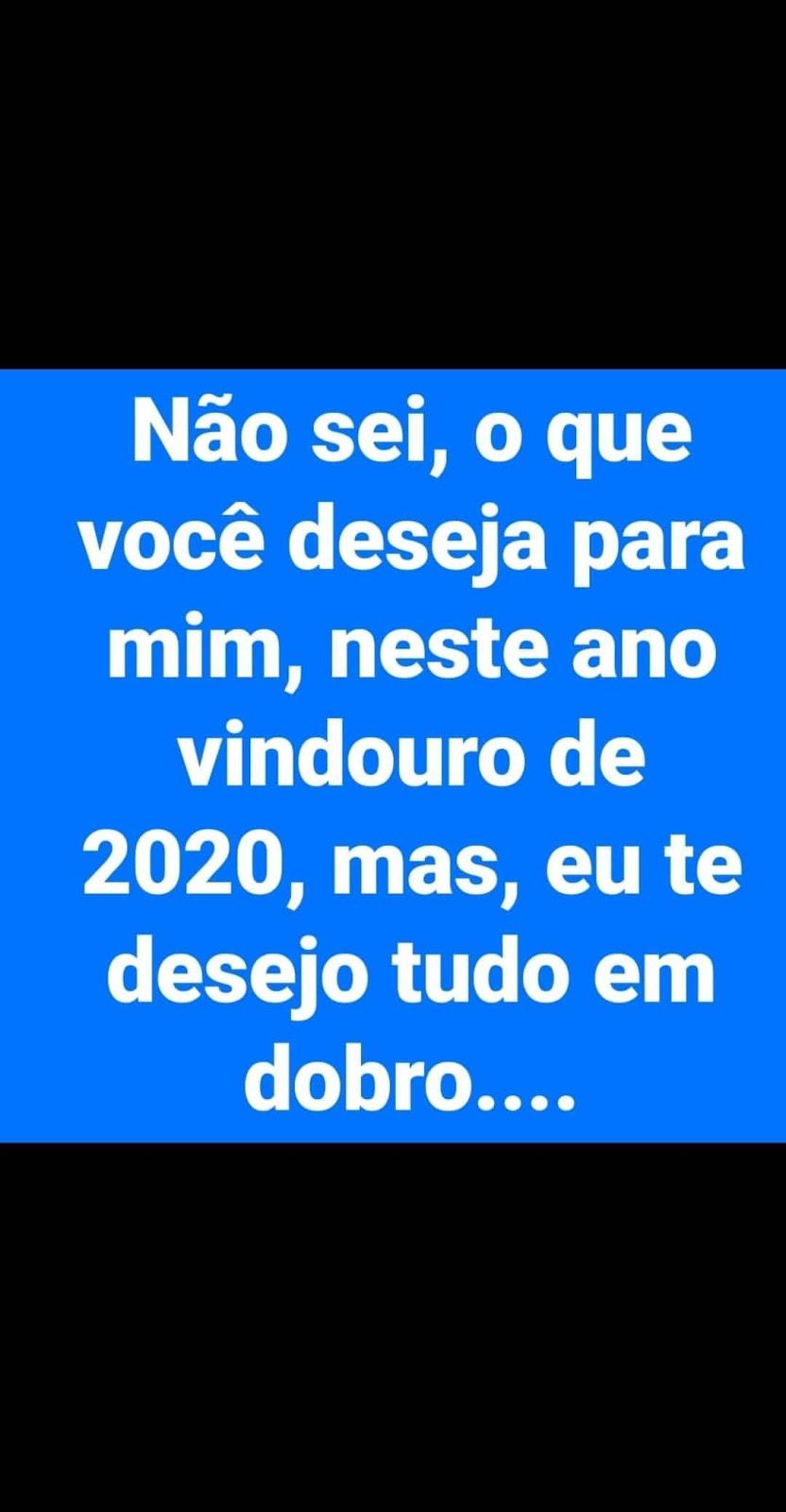 ANO NOVO 2020