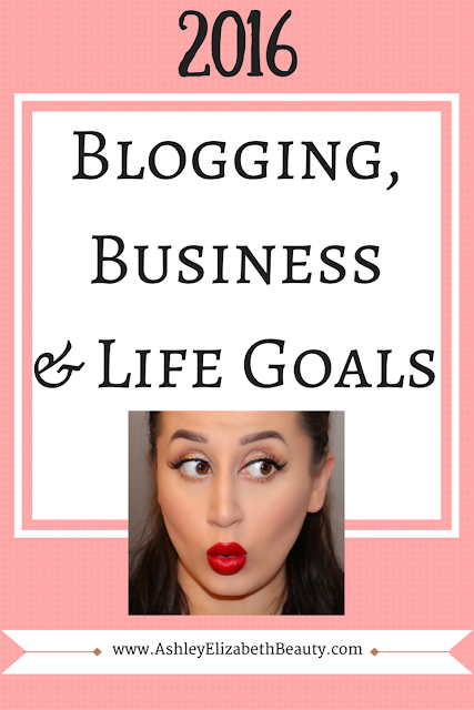 Blogging, Business and Life Goals for 2016