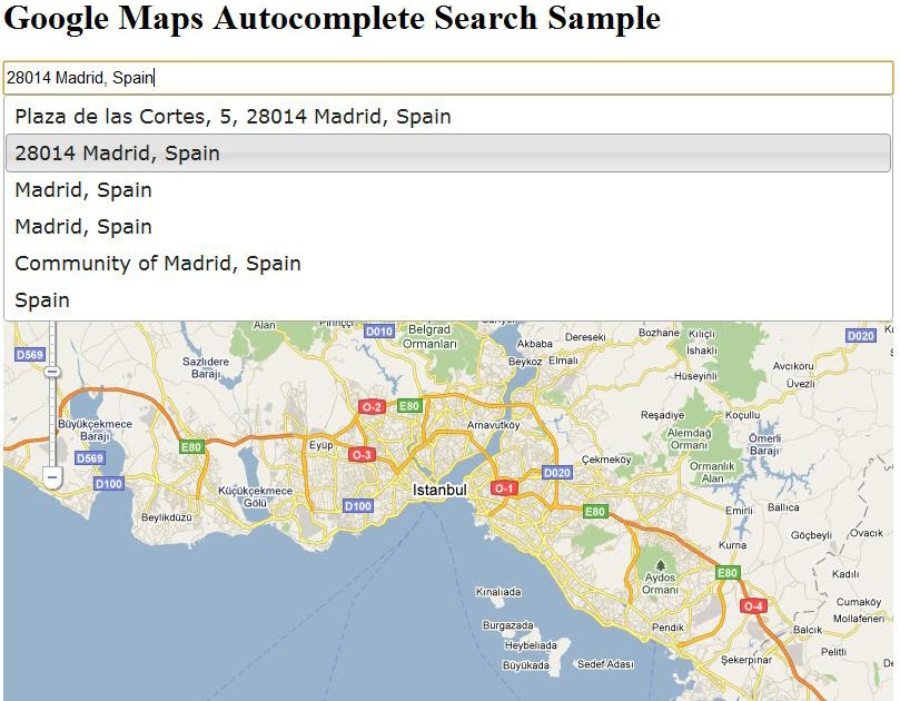 Geocode Google Maps v3 herunterladen