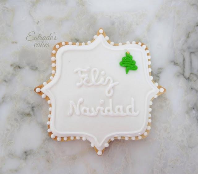 galletas de Navidad con glasa - 1
