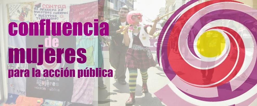 confluencia de Mujeres para la acción pública