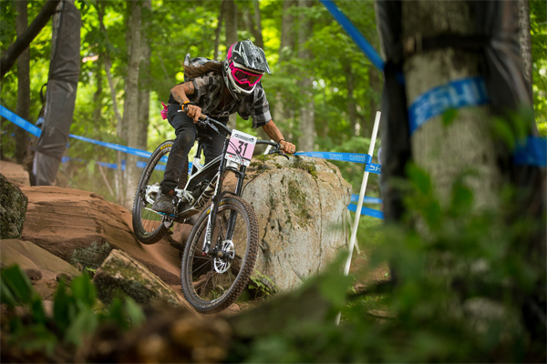 2015 Windham UCI World Cup Downhill: Practice HIghlights Missy Giove