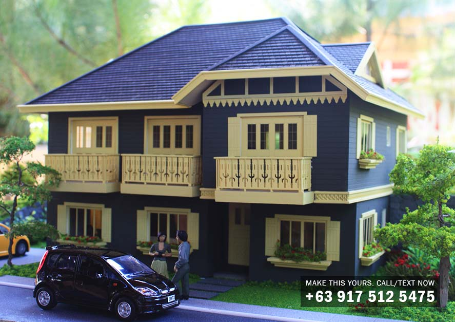 Chatelard Ready Home - Crosswinds Tagaytay Luxury House for Sale in Exclusive Gated Community - Tagaytay City