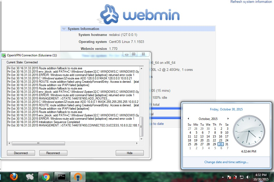 Akun Premium Gratis OpenVPN 30 31 Oktober 2015