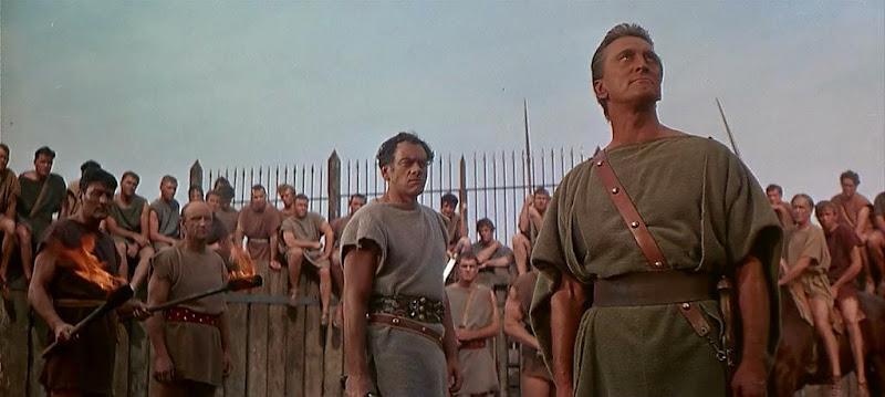 spartacus actor 1960