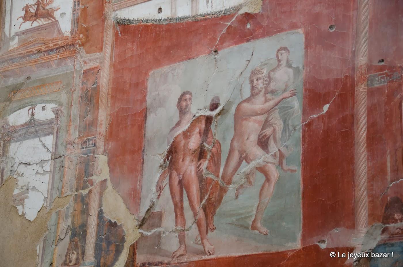 Herculanum - fresque