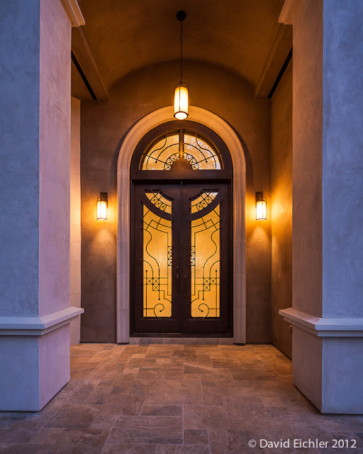 Architectural Photography-Residential Entrance