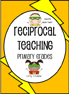 http://www.teacherspayteachers.com/Product/Reciprocal-Teaching-for-Primary-Grades-Super-Hero-Theme-674230