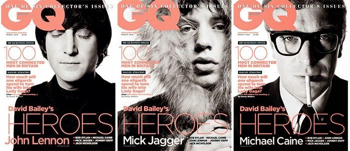 GQ Magazine - David Bailey's Heroes