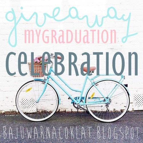 GIVEAWAY: MY GRADUATION CELEBRATION!