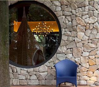 Fotos y dise os de ventanas ventanas redondas de aluminio - Casas de madera redondas ...