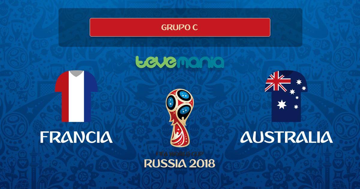 Francia derrotó 2 - 1 a Australia en partido ajustado