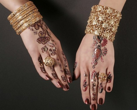 Mehndi Designs Simple Arabic Style : Mehndi style simple arabic designs for kids
