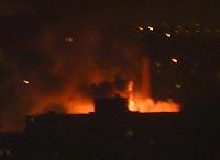 Fire in Brooklyn at Pratt. By MK Metz