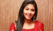 Cute anjali in red salwar suit