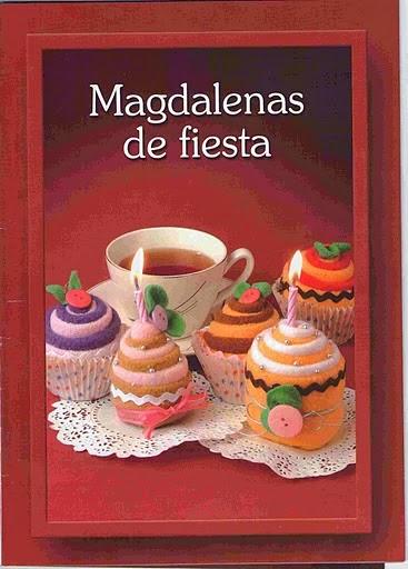 Como fazer cupcakes de feltro passo a passo