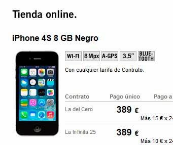 Precios de móviles iPhone en febrero 2014
