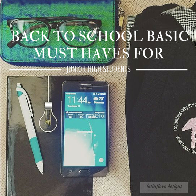 Back to School Basic Must Haves for Junior High Students - The Daily Fashion and Beauty News