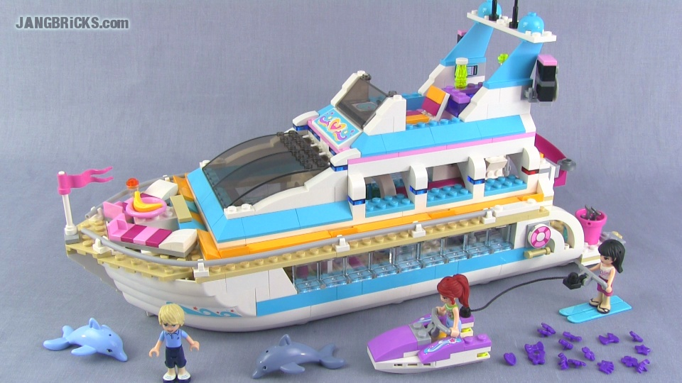LEGO Friends Dolphin Cruiser 41015 Set Review