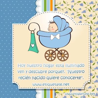 Imagenes con Frases para Bebes recien Nacidos 2012