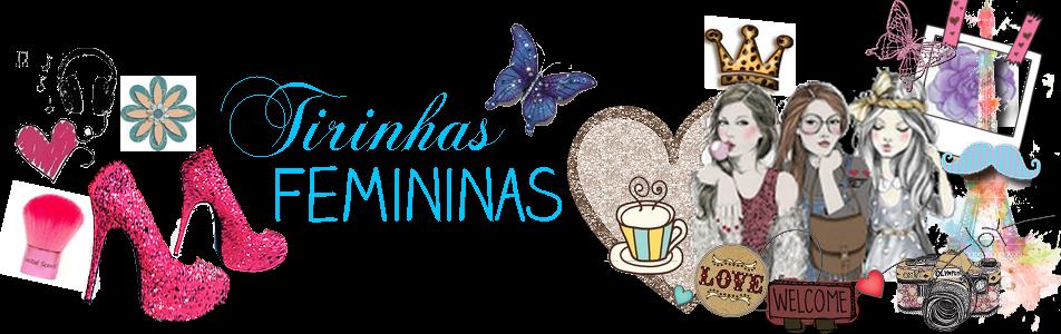Tirinhas Femininas