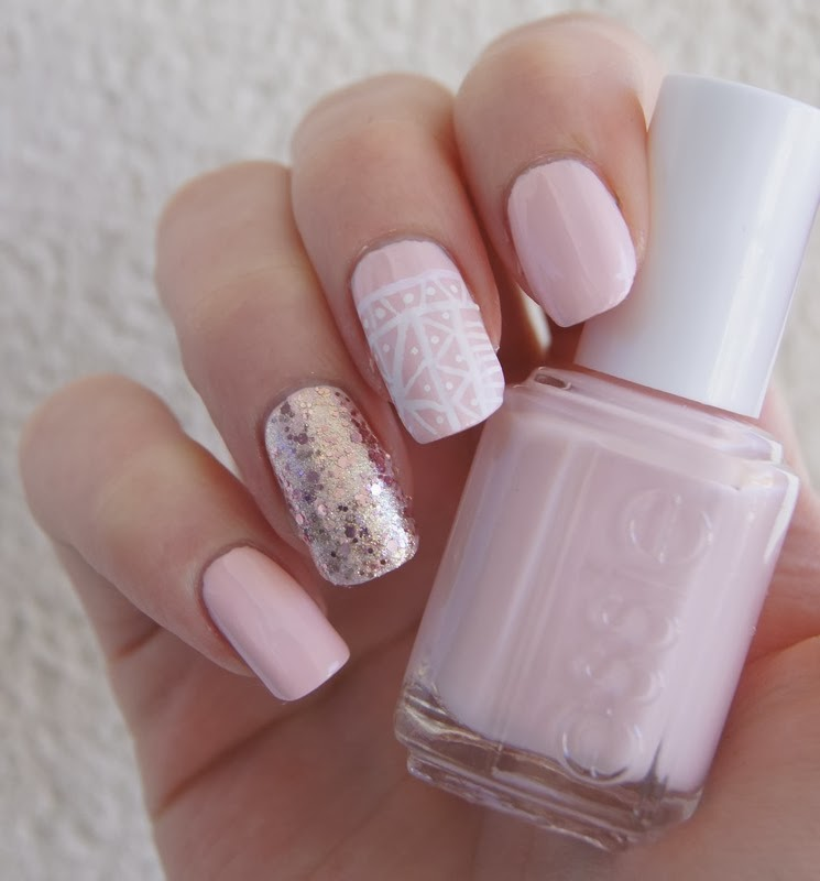 vernis essie swatch rose