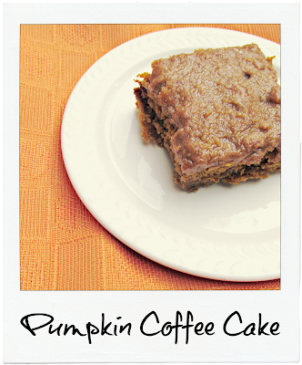 Delicious Pumpkin Coffee Cake | It's Always Ruetten