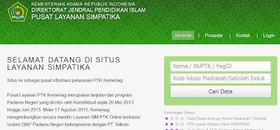 Info Terbaru SIMPATIKA Semester Genap TP. 2015/2016