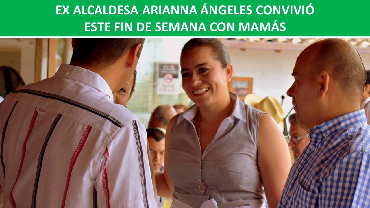 CONVIVIÓ ESTE FIN DE SEMANA CON MAMÁS