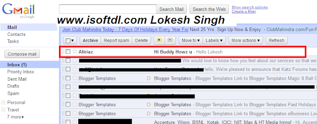 send the fake emails, email spoofing or forging