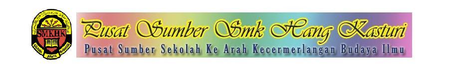 Pusat Sumber SMK Hang Kasturi