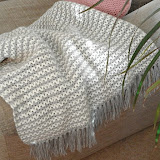 Cosy v-stitch blanket