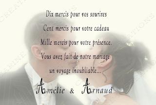 Message de carte de mariage